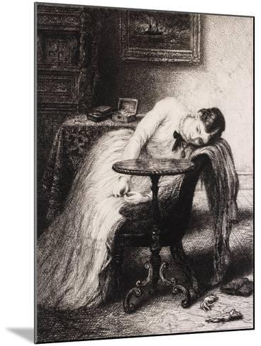 Hope Defered, 19th Century-Charles West Cope-Mounted Giclee Print