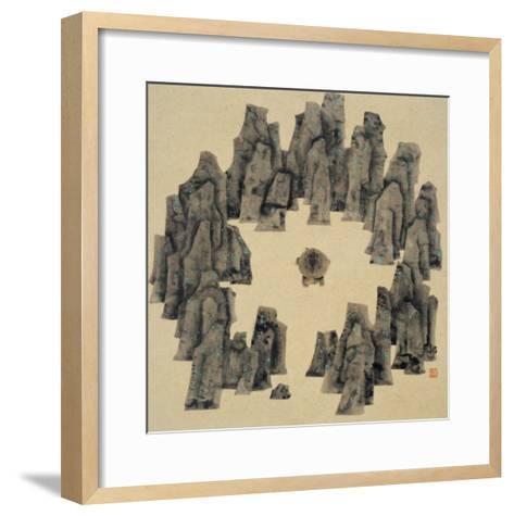 Spirits in the Heaven and Earth Series, No.16-Xu Bin-Framed Art Print