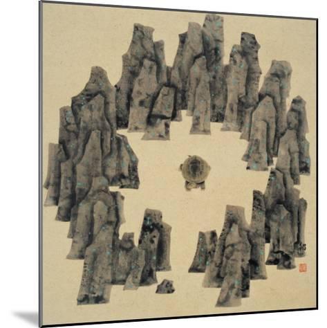 Spirits in the Heaven and Earth Series, No.16-Xu Bin-Mounted Giclee Print