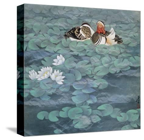The Scene of Ripple-Yuan Mu-Stretched Canvas Print