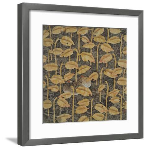 Listen to the Rain, No.2-Yuan Mu-Framed Art Print