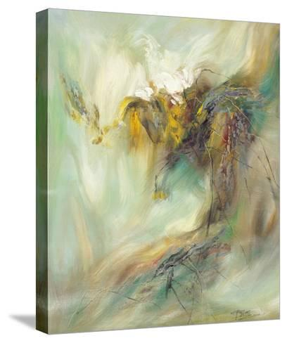 The Rhyme of Lotus, No.2-Yi Xianbin-Stretched Canvas Print