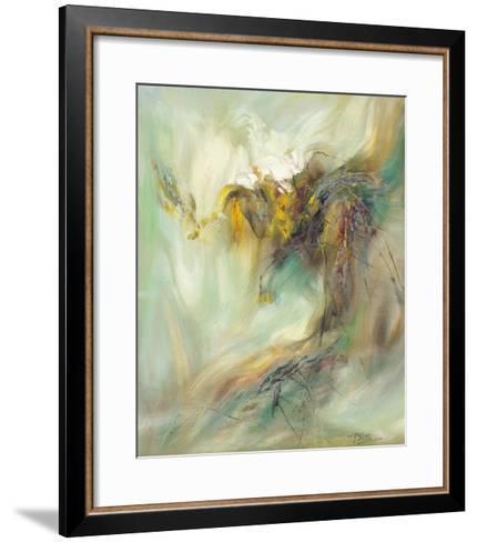 The Rhyme of Lotus, No.2-Yi Xianbin-Framed Art Print