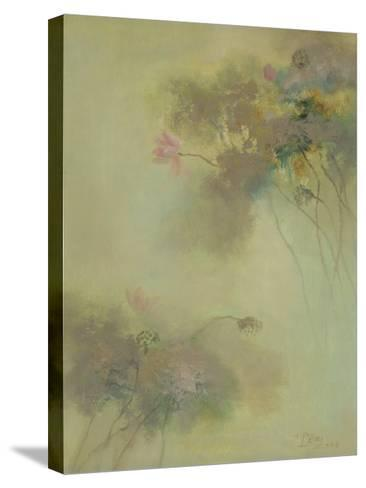 The Rhyme of Lotus, No.8-Yi Xianbin-Stretched Canvas Print