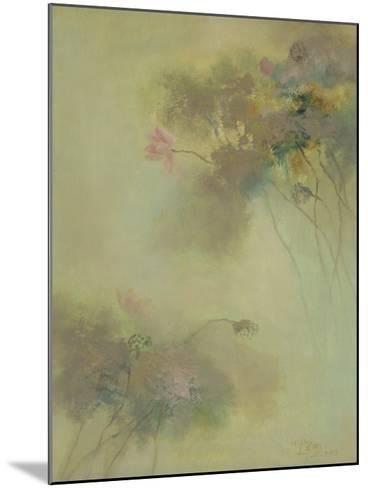 The Rhyme of Lotus, No.8-Yi Xianbin-Mounted Giclee Print