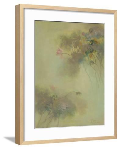 The Rhyme of Lotus, No.8-Yi Xianbin-Framed Art Print
