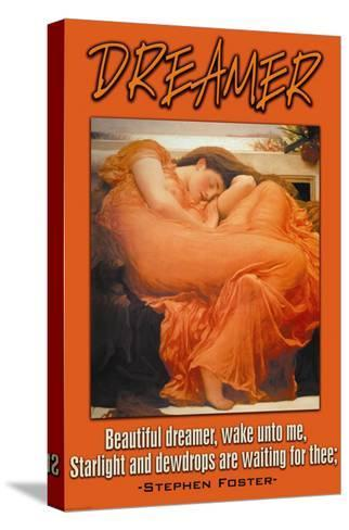 Beautiful Dreamer--Stretched Canvas Print