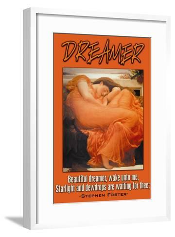 Beautiful Dreamer--Framed Art Print