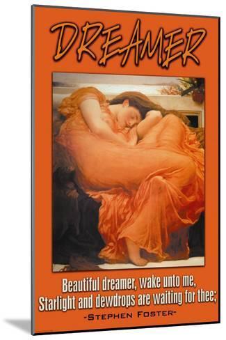 Beautiful Dreamer--Mounted Art Print