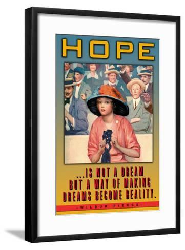 Hope--Framed Art Print