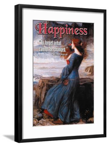 Happiness--Framed Art Print