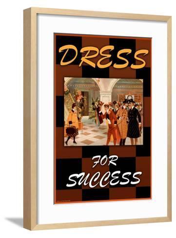 Dress For Success--Framed Art Print