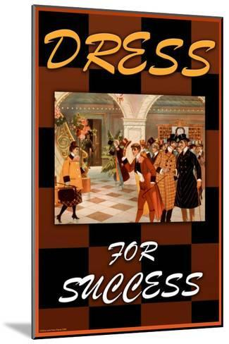 Dress For Success--Mounted Art Print