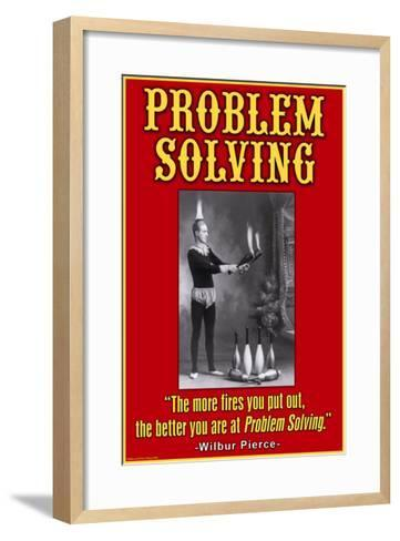 Problem Solving--Framed Art Print