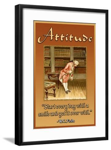 Attitude--Framed Art Print
