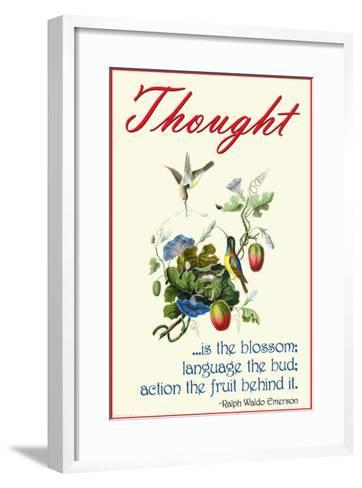 Thought--Framed Art Print