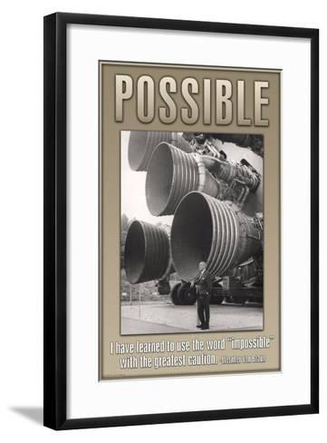 Possible--Framed Art Print