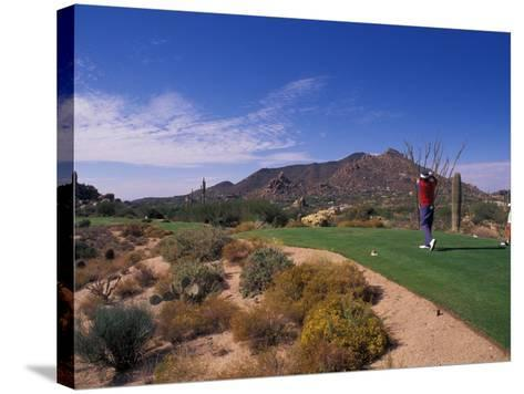 The Boulders Golf Course, Scottsdale, Arizona-Bill Bachmann-Stretched Canvas Print