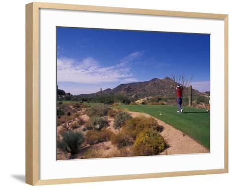 The Boulders Golf Course, Scottsdale, Arizona-Bill Bachmann-Framed Art Print