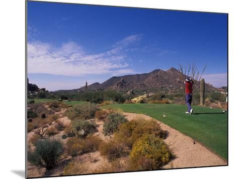 The Boulders Golf Course, Scottsdale, Arizona-Bill Bachmann-Mounted Photographic Print