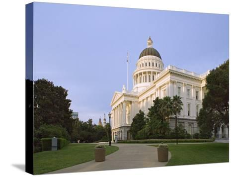 State Capitol Building, Sacramento, California-Dennis Flaherty-Stretched Canvas Print