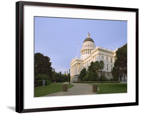 State Capitol Building, Sacramento, California-Dennis Flaherty-Framed Art Print