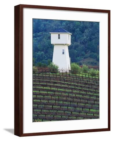 Silver Oak Cellars, Alexander Valley Wine Country, California-John Alves-Framed Art Print