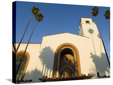 Union Station, Los Angeles, California-Jake Warga-Stretched Canvas Print