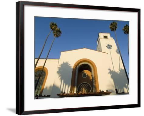 Union Station, Los Angeles, California-Jake Warga-Framed Art Print