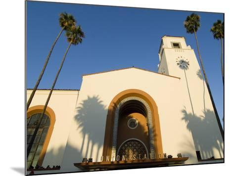 Union Station, Los Angeles, California-Jake Warga-Mounted Photographic Print