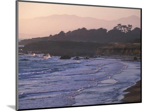 Moonstone Beach, Cambria, Napa Valley, California-Nik Wheeler-Mounted Photographic Print