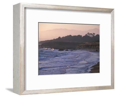 Moonstone Beach, Cambria, Napa Valley, California-Nik Wheeler-Framed Art Print