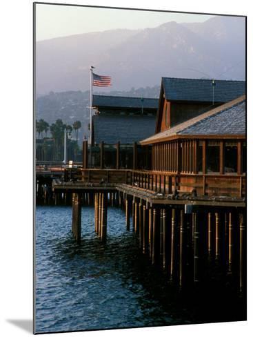 Waterfront Restaurant, Stern's Wharf, Santa Barbara, California-Savanah Stewart-Mounted Photographic Print