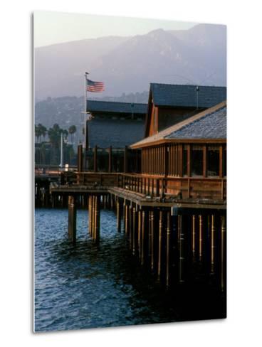 Waterfront Restaurant, Stern's Wharf, Santa Barbara, California-Savanah Stewart-Metal Print