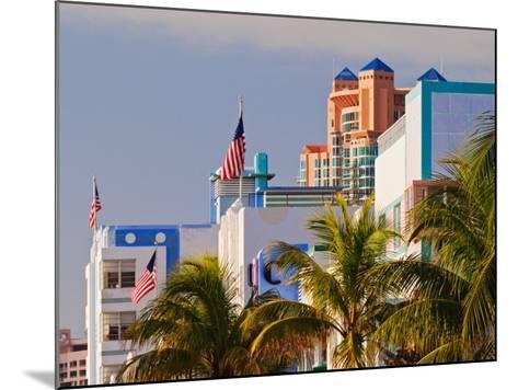 Art Deco District of South Beach, Miami Beach, Florida-Adam Jones-Mounted Photographic Print
