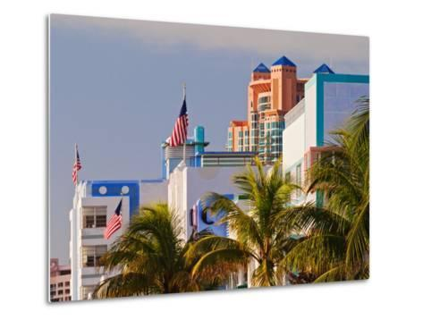 Art Deco District of South Beach, Miami Beach, Florida-Adam Jones-Metal Print