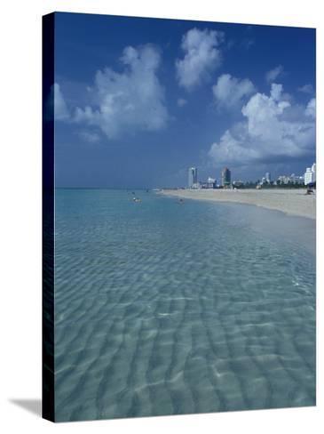 South Beach, Miami, Florida-Julie Bendlin-Stretched Canvas Print