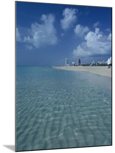 South Beach, Miami, Florida-Julie Bendlin-Mounted Photographic Print