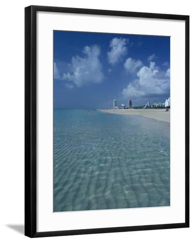 South Beach, Miami, Florida-Julie Bendlin-Framed Art Print
