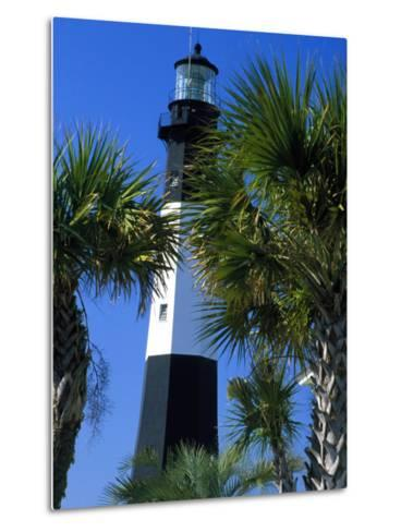Tybee Island Lighthouse, Savannah, Georgia-Julie Eggers-Metal Print