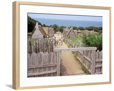 Local Plantation, Plymouth, Massachusetts-David Herbig-Framed Art Print