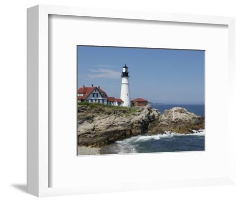 Portland Head Light, Cape Elizabeth, Maine-Keith & Rebecca Snell-Framed Art Print