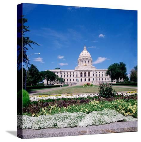 Minnesota State Capitol Building, St. Paul, Minnesota-Bernard Friel-Stretched Canvas Print