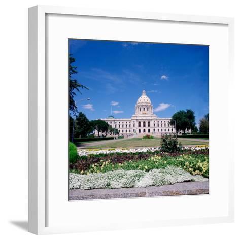 Minnesota State Capitol Building, St. Paul, Minnesota-Bernard Friel-Framed Art Print