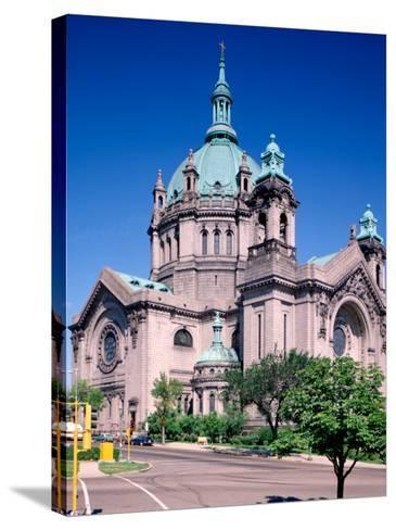Cathedral of St. Paul, St. Paul, Minnesota-Bernard Friel-Stretched Canvas Print
