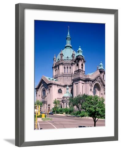 Cathedral of St. Paul, St. Paul, Minnesota-Bernard Friel-Framed Art Print