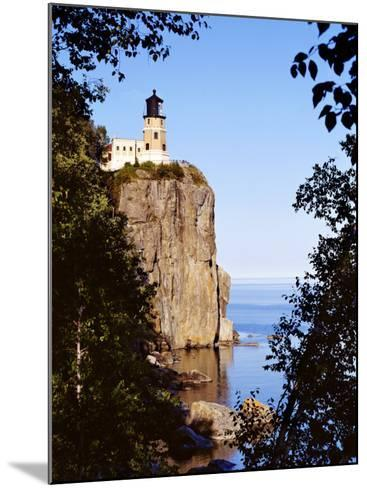 Split Rock Lighthouse, Two Harbors, Lake Superior, Minnesota-Peter Hawkins-Mounted Photographic Print