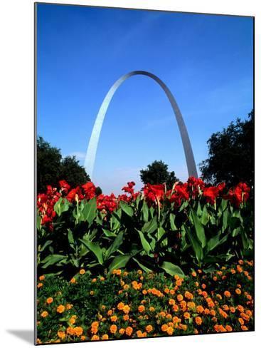 Famous St. Louis Arch, Archway Park, St. Louis, Missouri-Bill Bachmann-Mounted Photographic Print