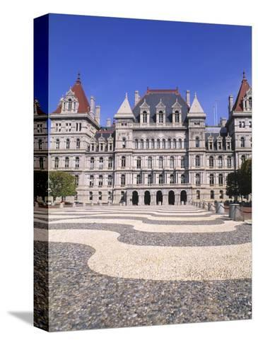 State Capitol Building, Albany, New York-Bill Bachmann-Stretched Canvas Print