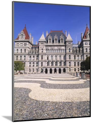 State Capitol Building, Albany, New York-Bill Bachmann-Mounted Photographic Print